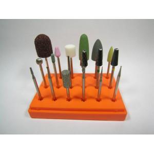 Профессиональный набор насадок  для педикюра, маникюра и коррекции ногтей