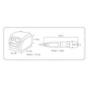 Аппарат для педикюра и маникюра Strong 207A/S107