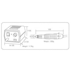 Strong 204/102L - аппарат для маникюра и педикюра
