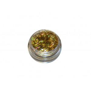 Палочки голографические золото