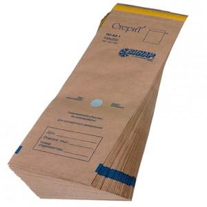 Пакеты из крафт-бумаги для стерилизации 100*250 мм.