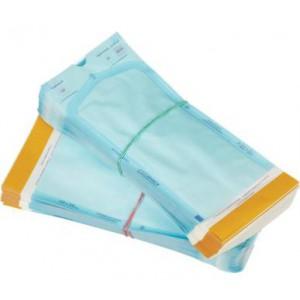 Пакеты самозаклеивающиеся КЛИНИПАК для паровой, газовый (окись этилена) стерилизации 60*100 мм.