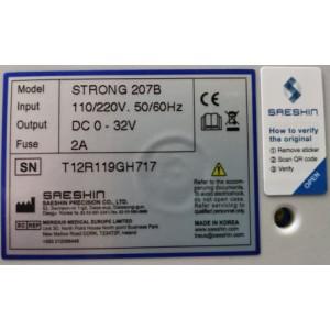 Strong 207B/107 - профессиональный аппарат для педикюра и маникюра с педалью
