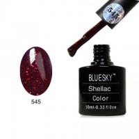 Гель лак Shellac Bluesky 40545
