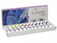 Акриловые краски для дизайна ногтей 12 по 10 мл.